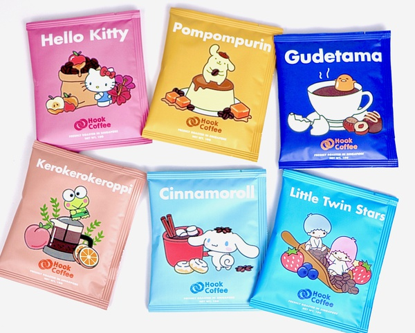 Sanrio Characters X Hook Coffee